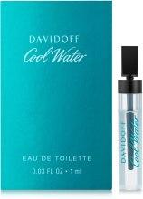 Духи, Парфюмерия, косметика Davidoff Cool Water - Туалетная вода (пробник)