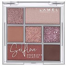 Духи, Парфюмерия, косметика Палетка теней для век - Lamel Professional Selflove Eyeshadow Palette