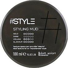 Духи, Парфюмерия, косметика Глина для стайлинга - Dott. Solari Style Black Line Styling Mud