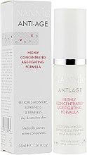 Духи, Парфюмерия, косметика Активная увлажняющая сыворотка для сухой и чувствительной кожи - Nannic Skin Anti-Age Sensitive & Dry Skin