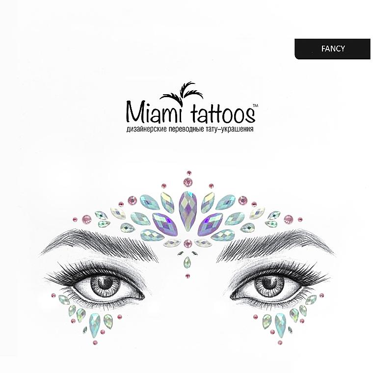 Клеящиеся кристаллы для лица - Miami Tattoos Fancy