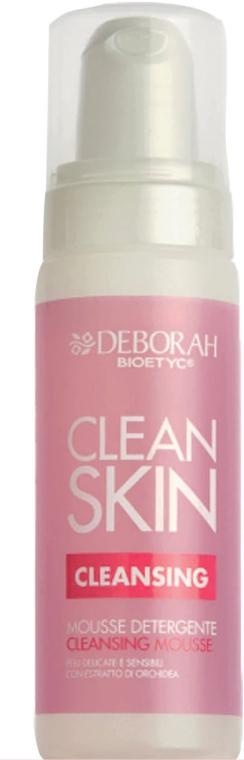 Очищающий мусс для лица - Deborah Bioetyc Clean Skin Cleansing Mousse — фото N1