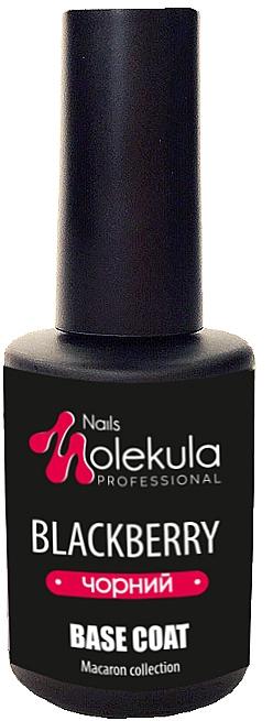 Цветное базовое покрытие - Nails Molekula Base Coat
