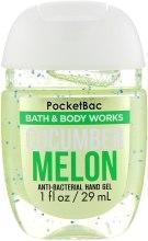 "Духи, Парфюмерия, косметика Антибактериальный гель для рук ""Cucumber Melon"" - Bath and Body Works Anti-Bacterial Hand Gel"