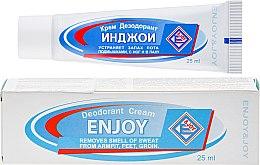Духи, Парфюмерия, косметика Крем-дезодорант - Enjoy & Joy Deodorant Cream