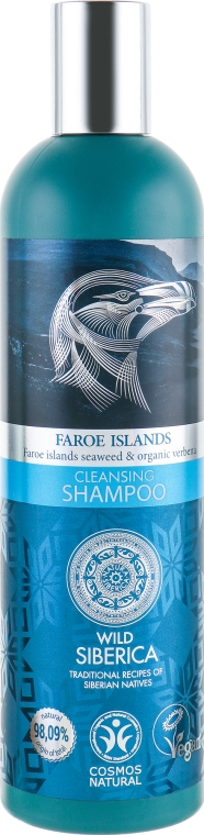 "Шампунь ""Очищение и уход"" - Natura Siberica Faroe Islands Cleansing Shampoo"