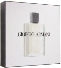 Духи, Парфюмерия, косметика Giorgio Armani Acqua di Gio Pour Homme - Набор (edt/50ml+sh/gel/75ml+sh/balm/75ml)