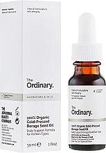 Духи, Парфюмерия, косметика Органическое масло бораго холодного отжима - The Ordinary 100% Organic Cold-Pressed Borage Seed Oil