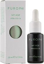 Духи, Парфюмерия, косметика Антивозрастное масло-энергетик для зрелой кожи - Purophi My Age Lifeblood Oil