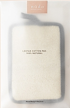 Духи, Парфюмерия, косметика Подушечка из люфы для активного ухода за кожей тела - Nudo Nature Made Loofah Cotton Pad