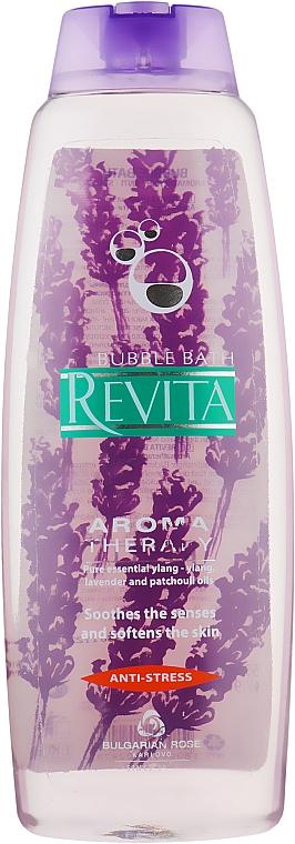 """Пена для ванн """"Revita. Антистресс"""" - Bulgarian Rose Revita Aroma Therapy"""