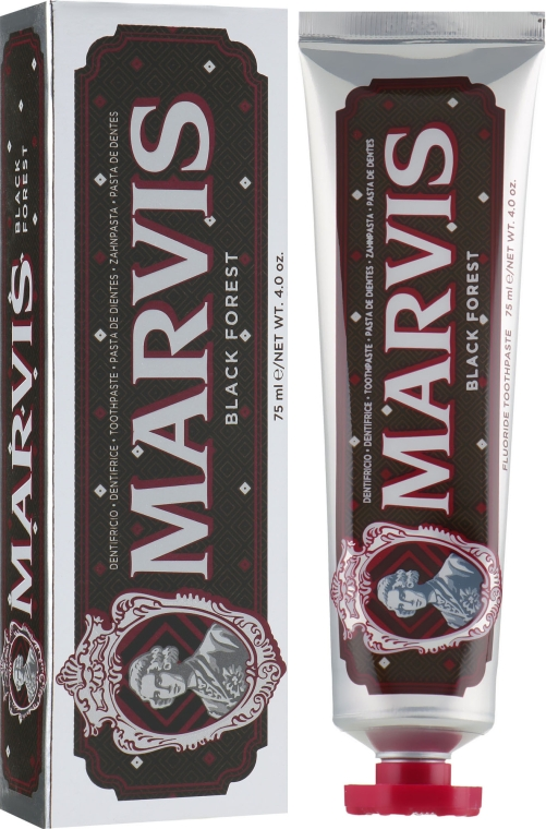"Зубная паста ""Черный лес"" - Marvis Black Forest"