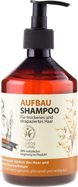 Восстанавливающий шампунь для волос - Рецепты бабушки Гертруды