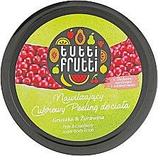 "Духи, Парфюмерия, косметика Гель-пилинг для тела ""Груша и Клюква"" - Farmona Tutti Frutti Body Scrub Pear & Cranberry"
