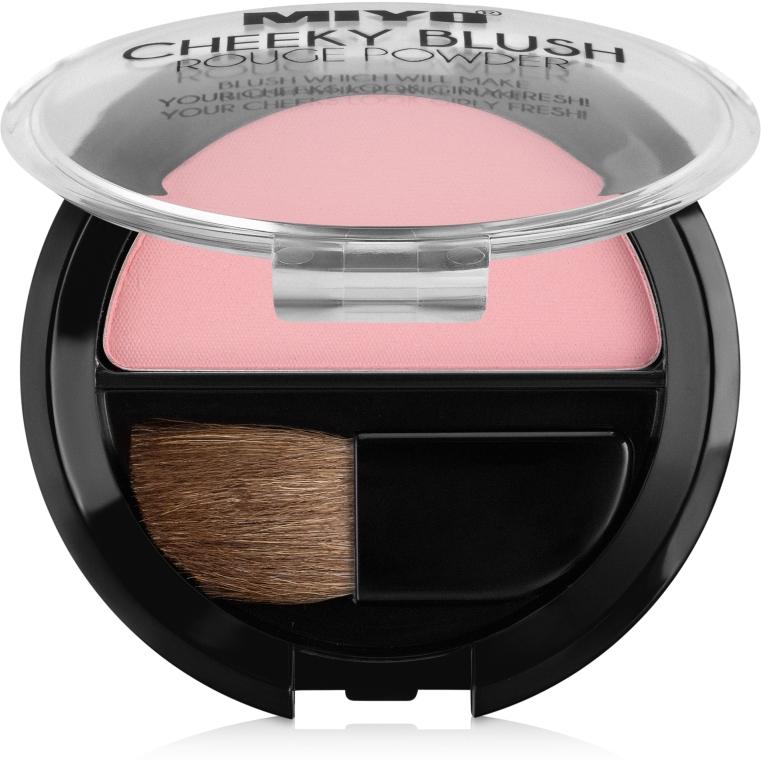 Румяна для лица - Miyo Cheeky Blush Rouge Powder