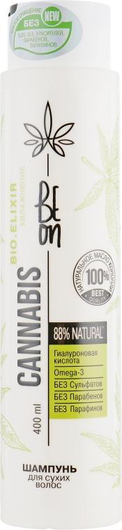 """Шампунь """"Увлажнение"""" для сухих волос - Beon Cannabis Bio.Elixir"""