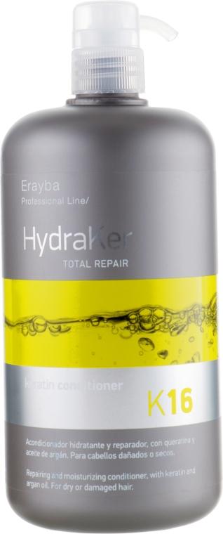Кондиционер кератиновый - Erayba HydraKer K16 Keratin Conditioner — фото N3