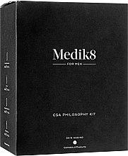 Духи, Парфюмерия, косметика Набор для мужчин - Medik8 The CSA Philosophy Kit For Men (cr/50ml + ser/15ml + ser/30ml + gel/40ml)