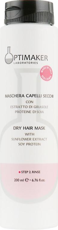 Маска для сухих и окрашенных волос - Optima Maschera Secchi