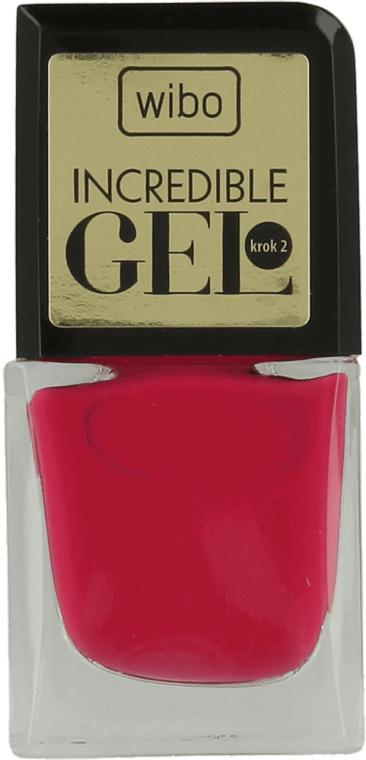 Гель-лак для ногтей - Wibo Incredible Gel