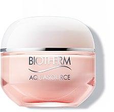 Парфумерія, косметика Зволожуючий крем для сухої шкіри - Biotherm Aquasource 48H Hydration Rich Cream