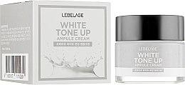 Духи, Парфюмерия, косметика Ампульный осветляющий крем для лица и шеи - Lebelage White Tone Up Ampule Cream
