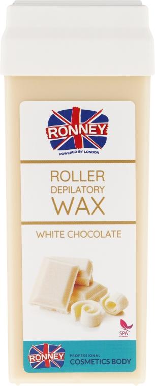 """Воск для депиляции в картридже """"Белый шоколад"""" - Ronney Wax Cartridge White Chocolate"""