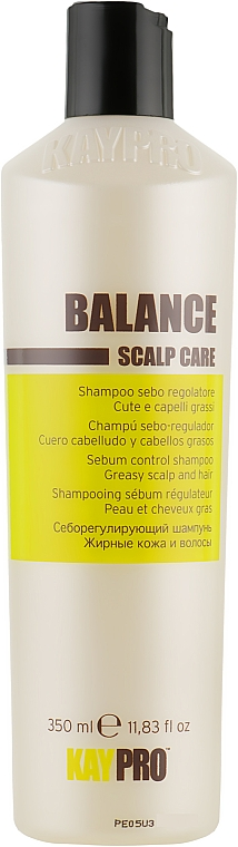 Шампунь для жирных волос - KayPro Scalp Care Sebo Shampoo