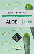 Духи, Парфюмерия, косметика Ультратонкая маска для лица с экстрактом алоэ - Etude House Therapy Air Mask Aloe