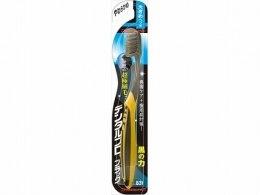 Духи, Парфюмерия, косметика Зубная щетка мягкая, черно-желтая - Dentalpro Ultra Slim Plus Big Head