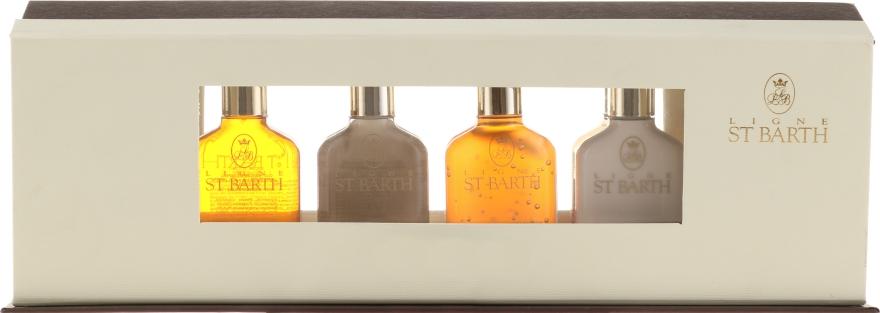 Набор - Ligne St Barth (oil/4x25ml + gel/2x25ml + shower/gel/25ml + shm/25ml + cond/25ml + milk/25ml + tonic/25ml + lot/25ml)