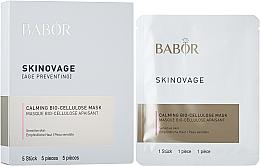 Духи, Парфюмерия, косметика УЦЕНКА Биоцеллюлозная маска для чувствительной кожи - Babor Skinovage Calming Bio-Cellulose Mask *