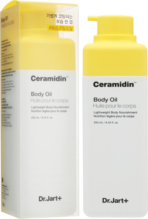 Увлажняющее масло для тела с керамидами - Dr. Jart+ Ceramidin Body Oil