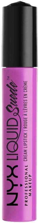Жидкая помада для губ - NYX Professional Makeup Liquid Suede Cream Lipstick