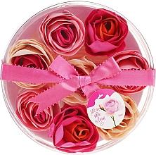 """Духи, Парфюмерия, косметика Конфетти для ванны """"Роза"""", 8 шт - Spa Moments Bath Confetti Rose"""