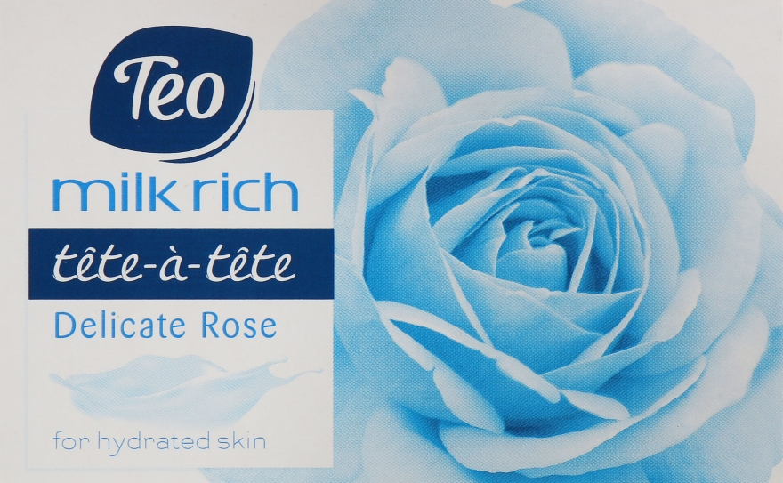 "Туалетное мыло ""Delicate Rose"" - Teo Tete-a-Tete Milk Rich Soap"