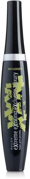 Тушь для ресниц - Relouis XXXL Extreme Exciting Exclusive Luxury