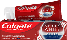 Парфумерія, косметика Зубна паста - Colgate Optic White Sparcling mint
