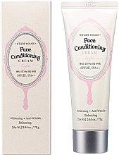 Духи, Парфюмерия, косметика База под макияж - Etude House Face Conditioning Cream Light