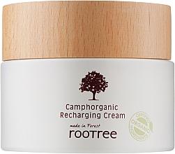 Духи, Парфюмерия, косметика Увлажняющий крем для лица - Rootree Camphorganic Recharging Cream