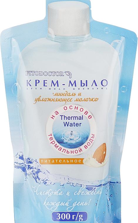 """Крем-мыло """"Миндаль и увлажняющее молочко"""" питательное - Фитодоктор (дой-пак)"""
