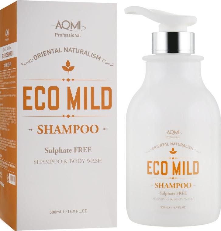 Органический шампунь - Aomi Eco Mild Shampoo