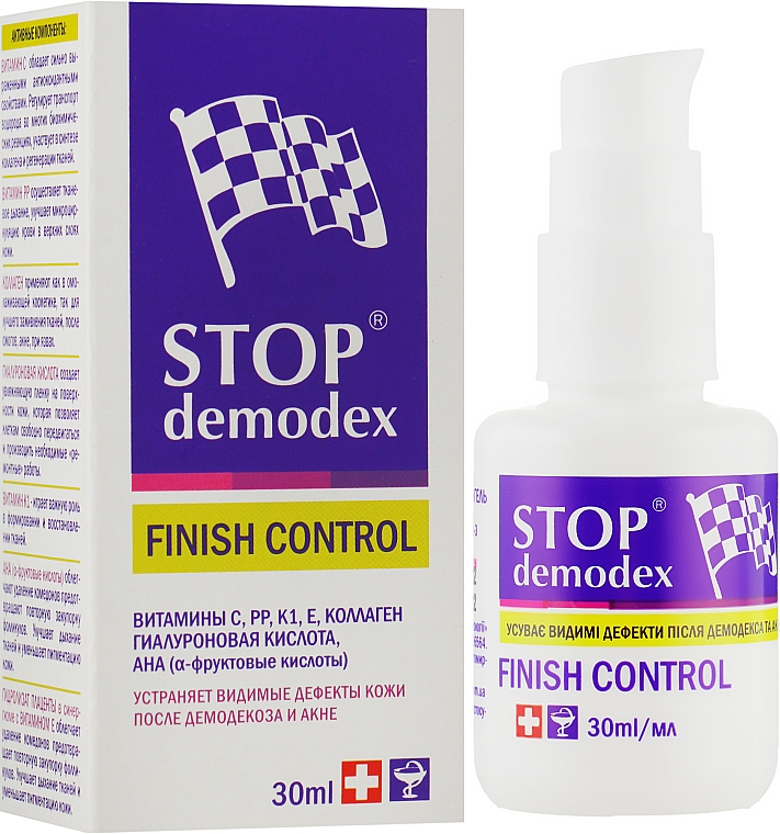 """Финиш контроль гель """"Стоп демодекс"""" - ФитоБиоТехнологии Stop Demodex"""