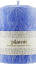 Духи, Парфюмерия, косметика Декоративная пальмовая свеча, синяя - Plamis
