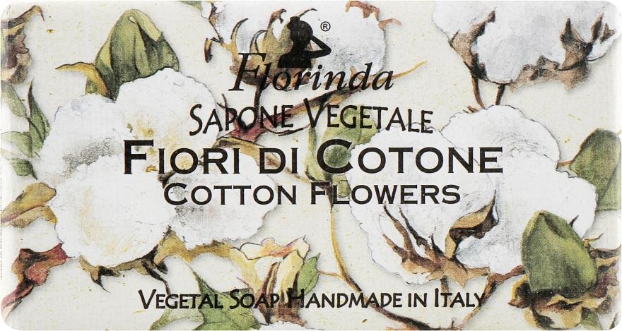 "Мыло натуральное ""Цветы хлопка"" - Florinda Sapone Vegetale Cotton Flowers"