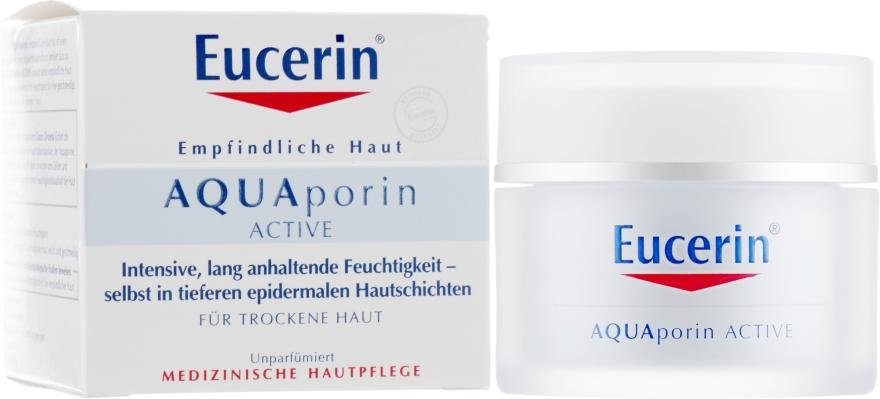 Интенсивный увлажняющий крем для сухой кожи лица - Eucerin AquaPorin Active Deep Long-lasting Hydration For Dry Skin