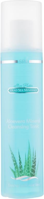 Очищающий тоник для сухой и нормальной кожи - Mon Platin DSM Aloevera Mineral Cleansing Tonic