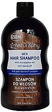Духи, Парфюмерия, косметика Шампунь для мужчин против перхоти - Bluxcosmetics Naturaphy Hair Shampoo