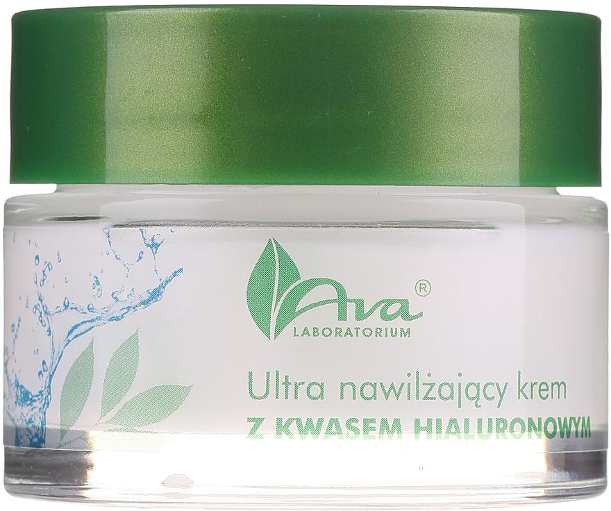 Ультраувлажняющий крем с гиалуроновой кислотой - AVA Laboratorium Ultra Moisturizing Hyaluronic Cream