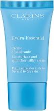 Парфумерія, косметика Зволожувальний крем для нормальної та схильної до сухості шкіри - Clarins Hydra-Essentiel Silky Cream Normal to Dry Skin